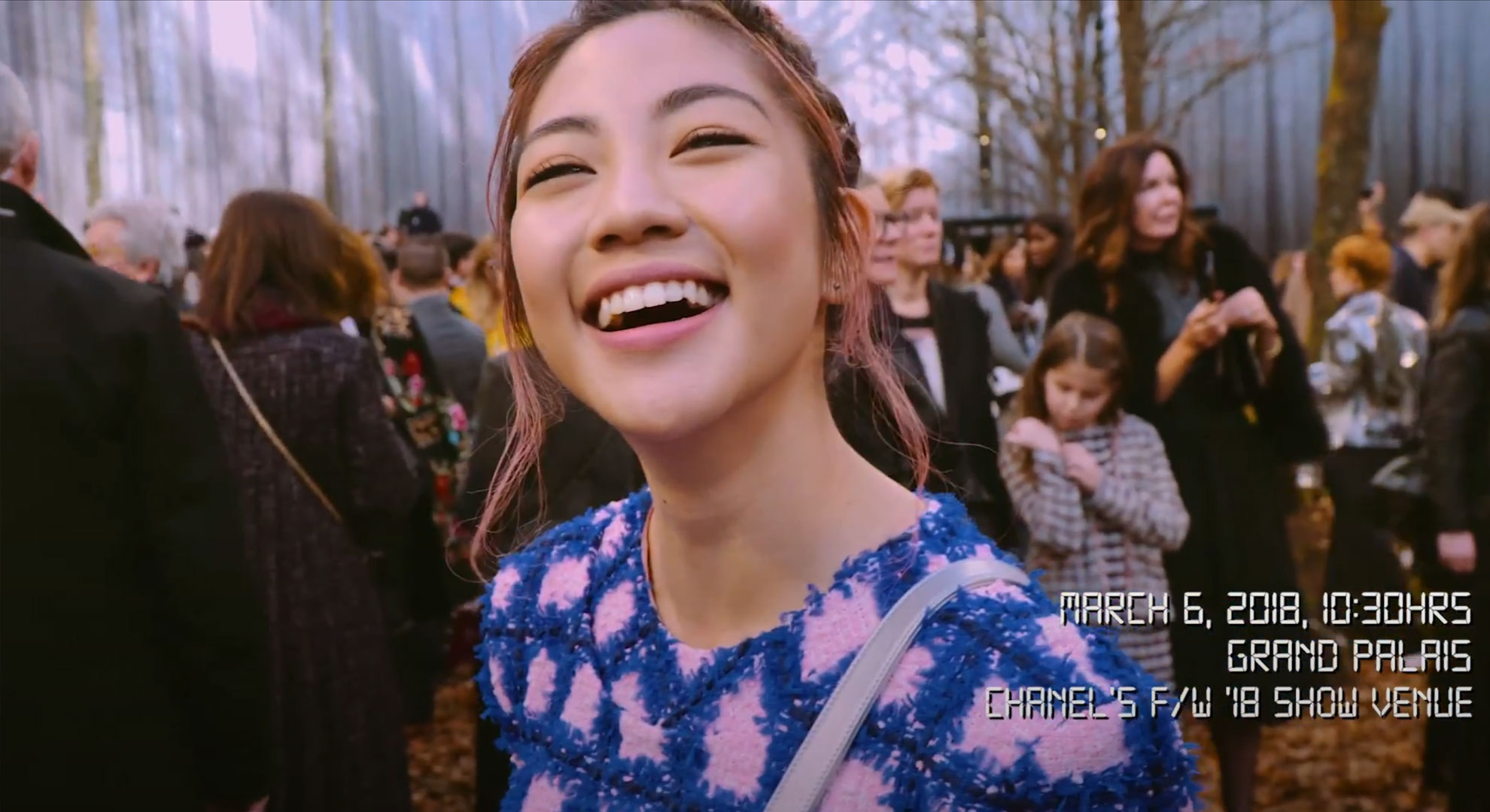A shoot with Narelle Kheng (Singapore Local Singer) in fashion week at Paris on Chanel.